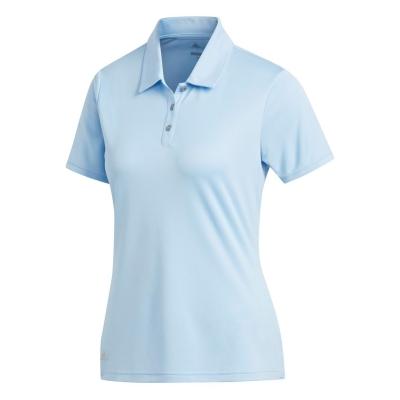 Tricouri Polo adidas cu Maneca Scurta Golf pentru femei deschis albastru