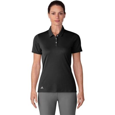 Tricouri Polo adidas cu Maneca Scurta Golf pentru femei negru