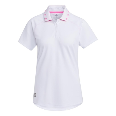 Tricouri Polo adidas EQT pentru Femei alb roz
