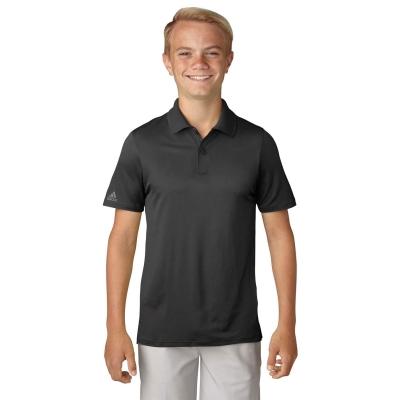 Tricouri Polo adidas Golf pentru baietei negru