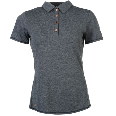 Tricouri Polo adidas Heathered pentru Femei