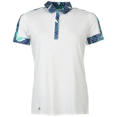 Tricouri Polo adidas Merch pentru Femei