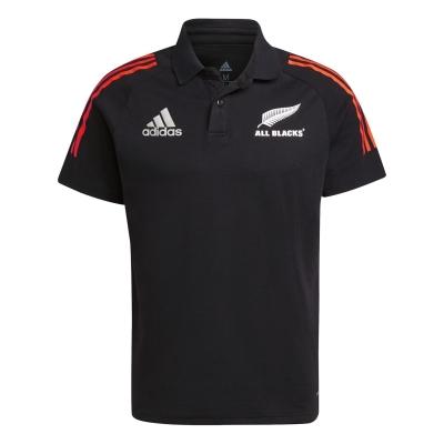 Tricouri Polo adidas New Zealand All Blacks pentru Barbati negru