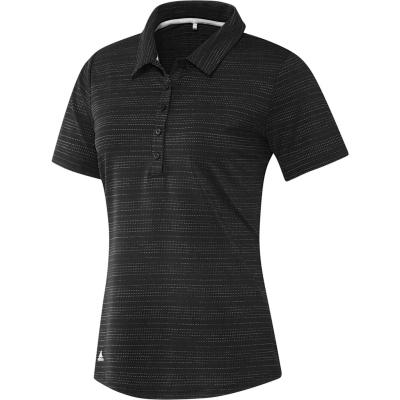 Tricouri Polo adidas Novelty pentru femei negru alb