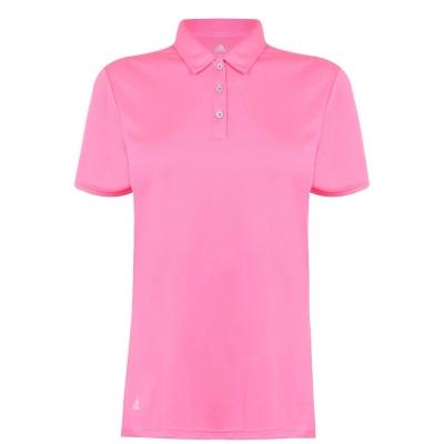Tricouri Polo adidas cu Maneca Scurta Golf pentru femei solar roz
