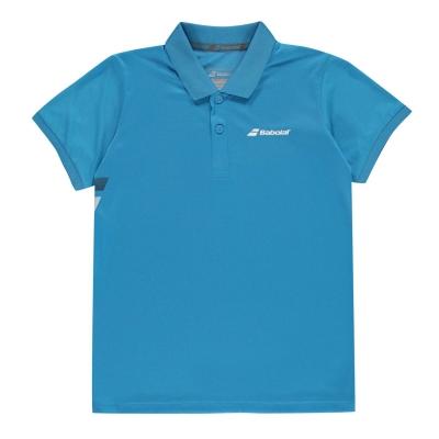 Tricouri Polo Babolat pentru copii drive albastru