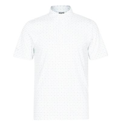 Tricouri Polo Callaway cu Maneca Scurta AOP pentru Barbati bright alb