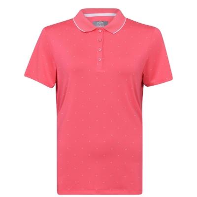 Tricouri polo Callaway Over Chev alb roz