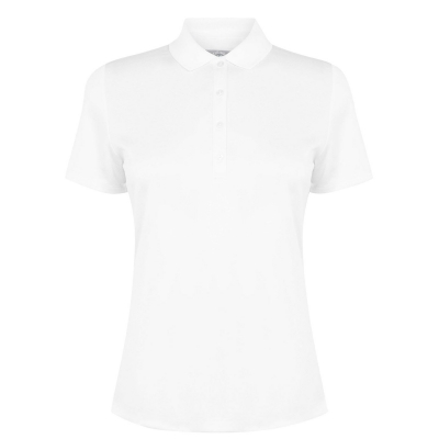 Tricouri Polo Callaway Solid pentru Femei alb