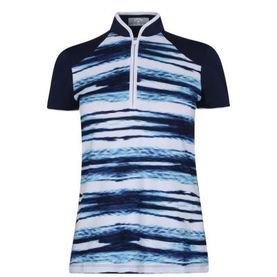 Tricouri Polo Callaway Water Ripple pentru Femei albastru