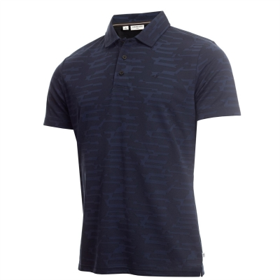 Tricouri Polo Calvin Klein Golf Golf Aztec pentru Barbati bleumarin