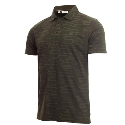 Tricouri Polo Calvin Klein Golf Golf Aztec pentru Barbati military verde