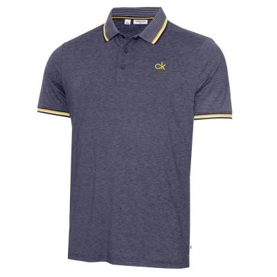 Tricouri Polo Calvin Klein Golf bleumarin gri