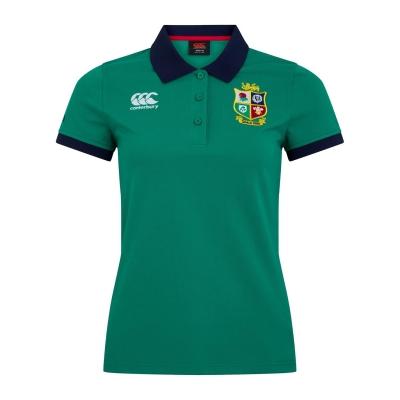 Tricouri Polo Canterbury British and Irish Lions pentru Femei verde