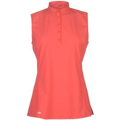 Tricouri polo Colmar Donna fara maneci pentru Femei rosu