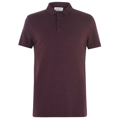 Tricouri Polo Criminal Pop rosu burgundy