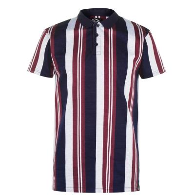Tricouri Polo Fabric bleumarin visiniu