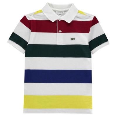 Tricouri polo cu dungi Lacoste Shirt multicolor