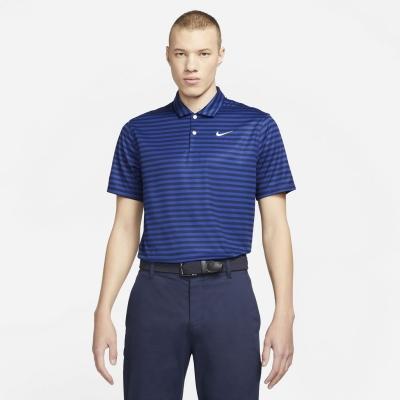 Tricouri polo cu dungi Nike Essential Shirt pentru Barbati albastru