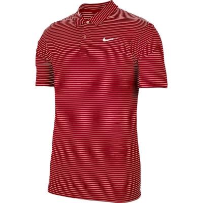 Tricouri polo cu dungi Nike Essential Shirt pentru Barbati rosu