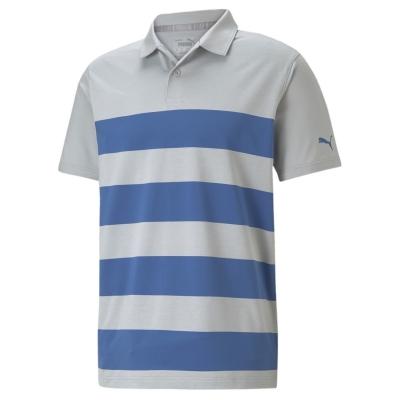 Tricouri polo cu dungi Puma Kiwi Shirt pentru Barbati