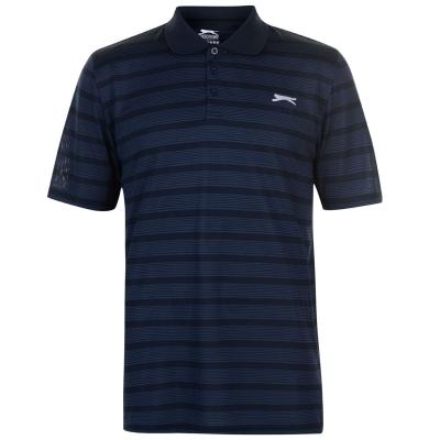 Tricouri polo cu dungi Slazenger Shirt pentru Barbati bleumarin