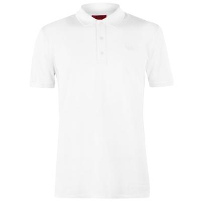 Tricouri Polo cu Maneca Scurta Hugo Donos alb