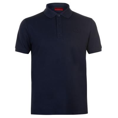 Tricouri Polo cu Maneca Scurta Hugo Donos bleumarin