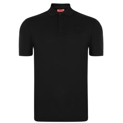 Tricouri Polo cu Maneca Scurta Hugo Donos negru