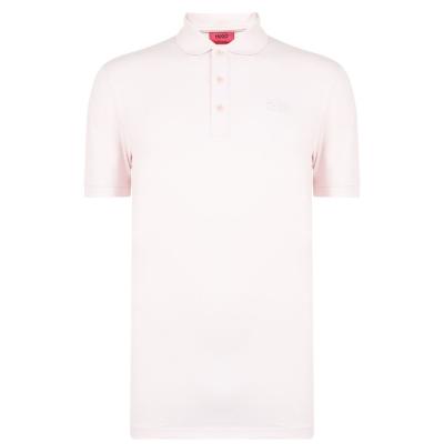 Tricouri Polo cu Maneca Scurta Hugo Donos roz