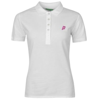 Tricouri Polo cu Maneca Scurta Prince pentru Femei alb