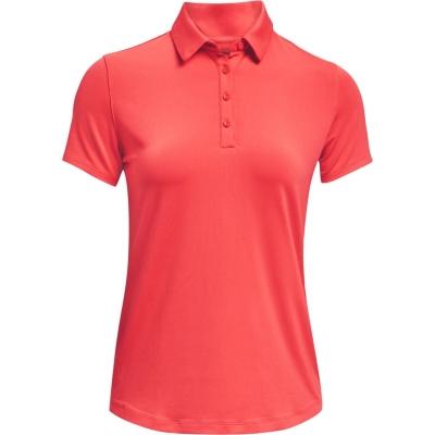 Tricouri Polo cu Maneca Scurta Under Armour Zinger pentru femei rosu
