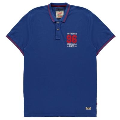 Tricouri Polo D555 Bartley pentru Barbati albastru roial