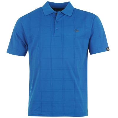 Tricouri Polo Dunlop Check Golf pentru Barbati
