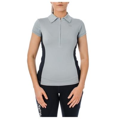 Tricouri Polo echitatie Orla Tech pentru Femei bleumarin