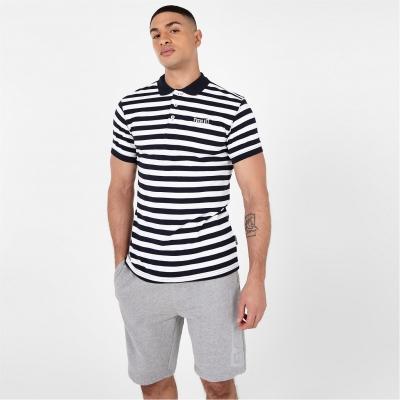 Tricouri Polo Everlast Pique bleumarin gri alb
