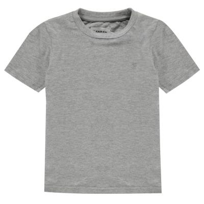 Tricouri Polo Farah Denny gri deschis
