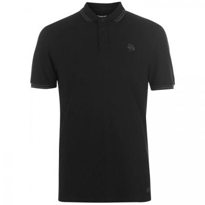 Tricouri Polo Firetrap Blackseal Lurex negru