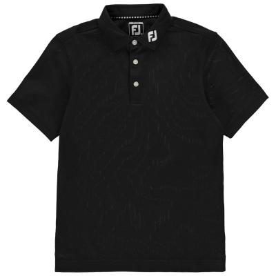 Tricouri polo Footjoy Performance pentru baietei negru