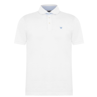 Tricouri Polo Hackett Coral alb