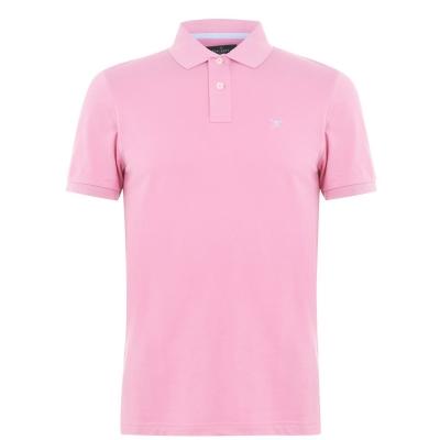 Tricouri Polo Hackett Logo roz