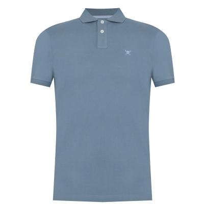 Tricouri Polo Hackett Logo albastru