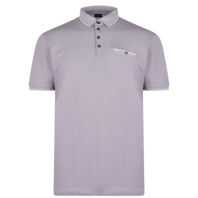 Tricouri Polo Howick Pique gri