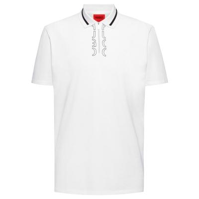 Tricouri Polo Hugo Dolmar 213 alb