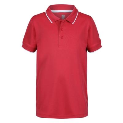 Tricouri polo Island verde verde PERFORMANCE pentru copii rosu