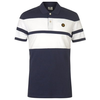 Tricouri polo Jack and Jones cu Maneca Scurta pentru Barbati maritime albastru