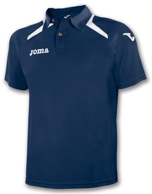 Tricouri polo Joma Champion II bleumarin-alb