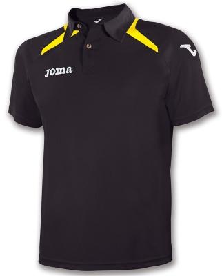 Tricouri polo Joma Champion II negru galben