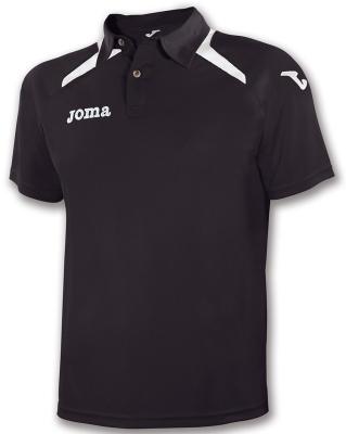 Tricouri polo Joma Champion II negru-alb
