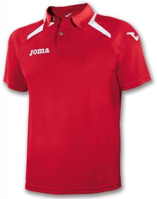 Tricouri polo Joma Champion II rosu-alb